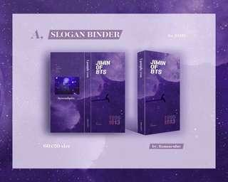 [GO PreOrder] Slogan Binder Jimin