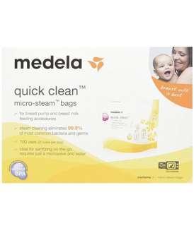 Medela美德牌微波爐消毒袋(一盒5個),包郵