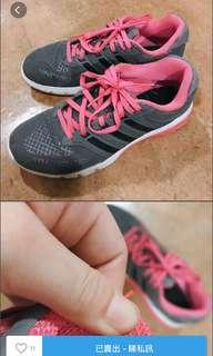 Adidas 波鞋 運動鞋 跑鞋 sneaker sneakers shoe woman girls training 訓練鞋 38.5