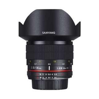 🚚 Samyang 14mm f2.8 ED AS IF UMC Lens (Canon, Nikon AE and Sony E Mount 14mm F2.8 f 2.8)