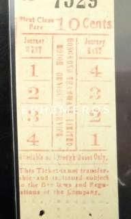 20 / 30年代香港電車有限公司電車票/巴士票
