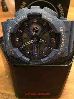 Brand New Casio G Shock Denim GA-110DC-2A