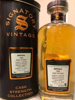 Signatory Imperial Distillery Single Cask Strength 1995-2014