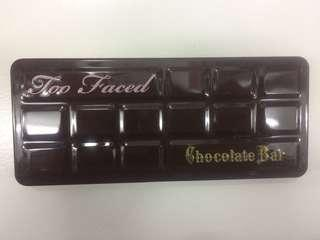 Too Faced Eyeshadow Chocholate Bar
