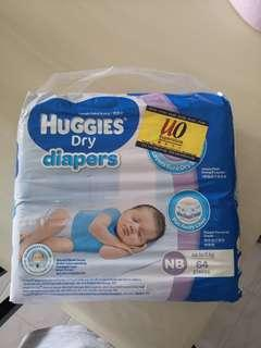Huggies Dry Newborn Diapers