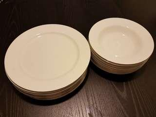 St. James Hankook plates and soup dishes