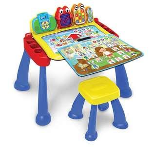 🚚 ~Ready Stocked~ VTech Touch and Learn Activity Desk table Deluxe easel, Regular