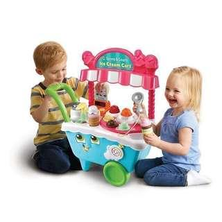 🚚 ~Ready Stocked- LeapFrog Scoop & Learn Ice Cream Cart