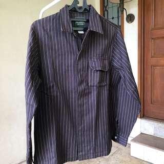 Striped thrift shirt