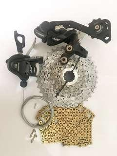 Used Bicycle Components — Shimano Deore XT Components M780 M786