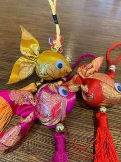 🚚 3 Goldfish Decoration
