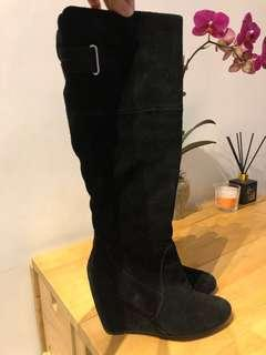Nine West boots size 5.5/35.5
