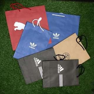 運動、特色紙袋