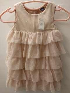 Baby GAP Fancy Princess Ruffle Flare Dress (4 yrs) New with Tag
