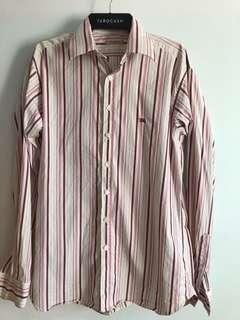 Burberry mens button up authentic