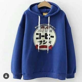 Japanese sweater blue