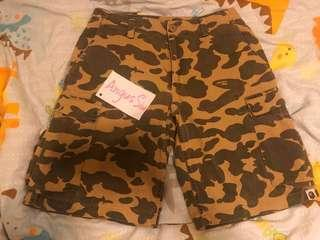 Bape shorts 短褲 a bathing ape