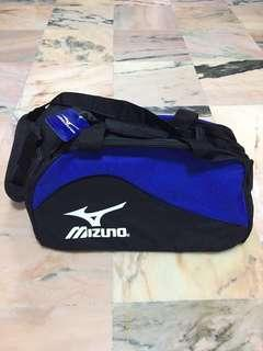 Mizuno Small Duffle Bag Black Blue