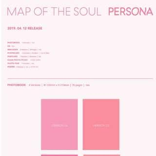(PRE ORDER) MAP OF THE SOUL : PERSONA