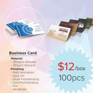 🚚 Business Card/ Name Card Printing