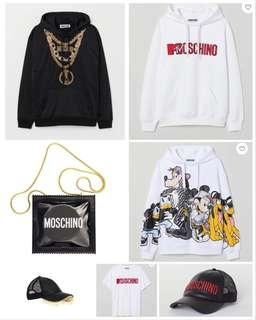 🚚 H&M moschino collaboration