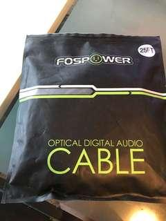 High end audio optical cable brand new