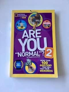 "National Geographic Kids Are You ""Normal""? Book 2"