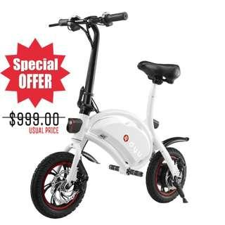 [BRAND NEW] DYU Seated Electric Scooter LTA Compliant