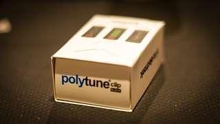 TC Electronic PolyTune Clip Clip-On Tuner, Black