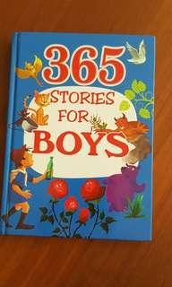 🚚 365 Stories for Boys (hardcover)