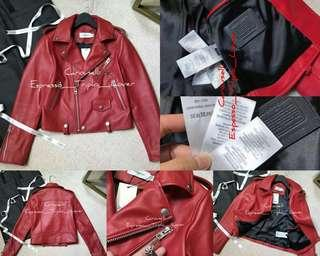 [C•O•A•C•H]Leather Bike Jacket for women CODE:A123032