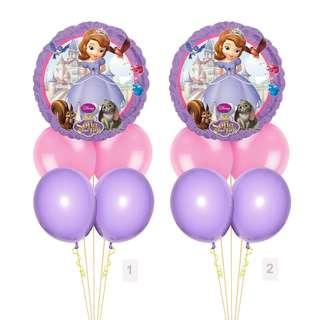 (SAVE $2) Disney Princess Sofia The First Balloon Party Package Party Wholesale Singapore