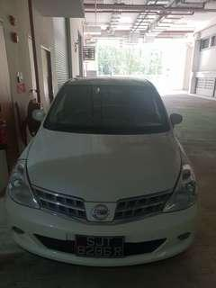 Nissan Latio for rent