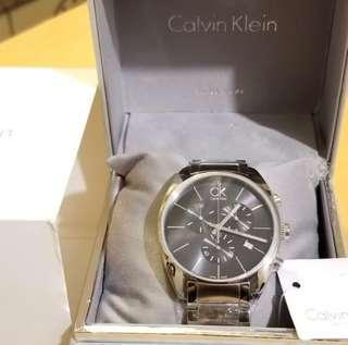 Calvin Klein Chrono Watch 44mm 100% Swiss Made