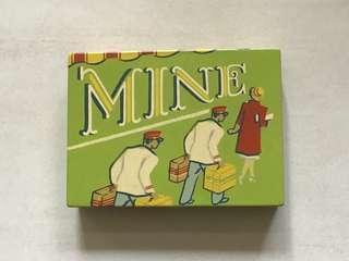復古 鐵盒 卡片盒