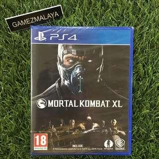 [NEW] PS4 MORTAL KOMBAT XL R2 - ACCEPT TRADE-IN | NEW PS4 GAMES (GAMEZMALAYA)