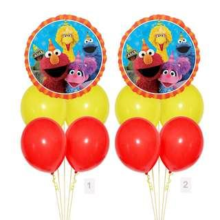 (SAVE $2) Sesame Street And Friends Red Border Party Package Party Wholesale Singapore