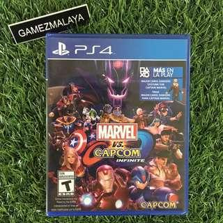 [NEW] PS4 MARVEL VS CAPCOM R1 - ACCEPT TRADE-IN | NEW PS4 GAMES (GAMEZMALAYA)