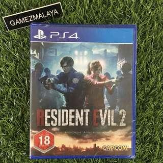 [NEW] PS4 RESIDENT EVIL 2 R2 - ACCEPT TRADE-IN | NEW PS4 GAMES (GAMEZMALAYA)