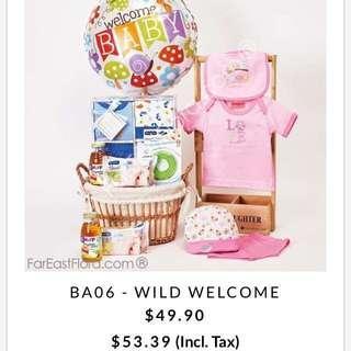 BN Brand New Far East Flora Baby Hamper Girl Newborn