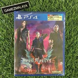 [NEW] PS4 DEVIL MAY CRY 5 R3 - ACCEPT TRADE-IN | NEW PS4 GAMES (GAMEZMALAYA)