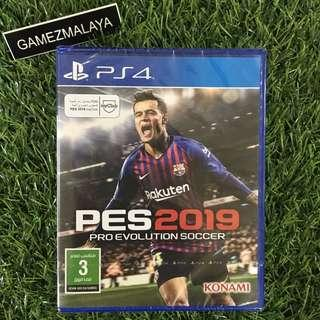 [NEW] PS4 PES 2019 R2 - ACCEPT TRADE-IN | NEW PS4 GAMES (GAMEZMALAYA)