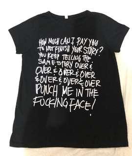 Hilarious Print T-shirt