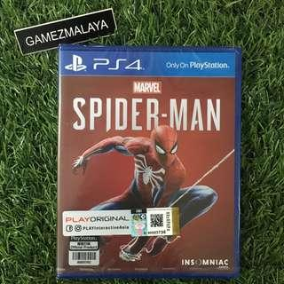 [NEW] PS4 SPIDERMAN R3 - ACCEPT TRADE-IN | NEW PS4 GAMES (GAMEZMALAYA)