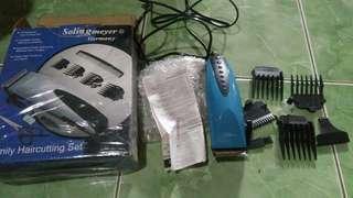 Hair cutting set