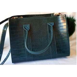 Bershka faux leather bag
