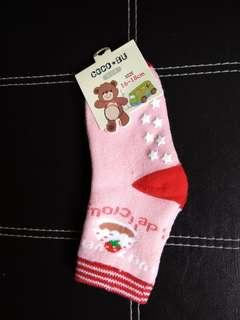 🚚 Girls strawberry socks (non slip socks / anti slip socks)