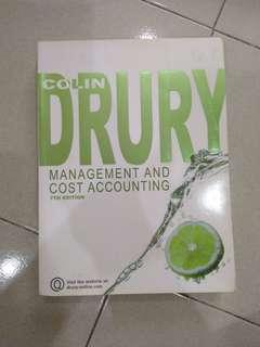 Colin Drury Managment & Cost Accounting 7th Edition
