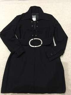 Mini dress black D&G