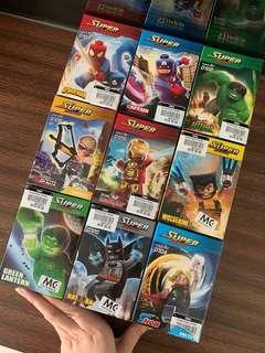 [PROMO] Super heroes lego set